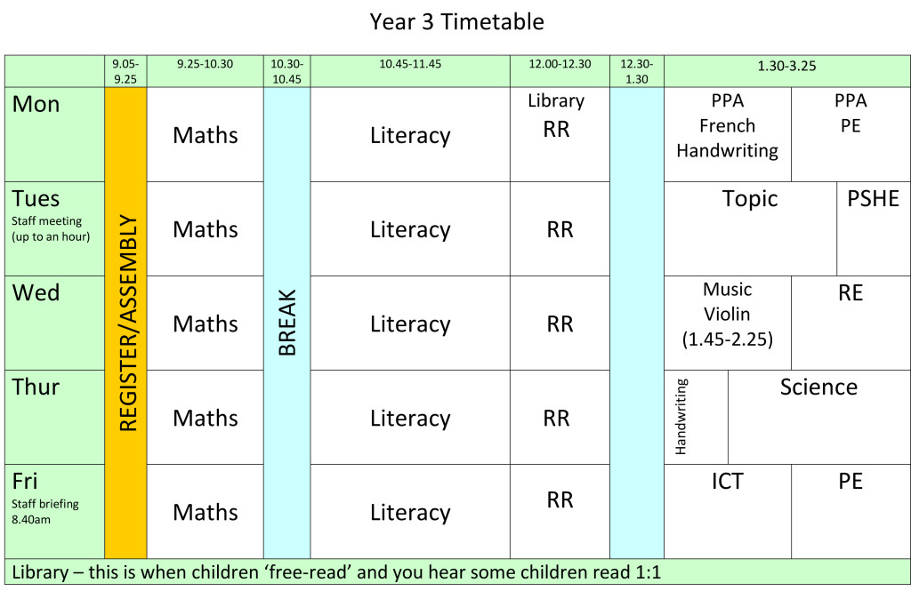 year-3-timetable-2016-2017