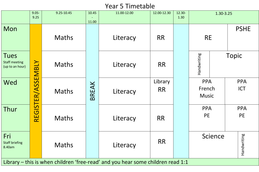 year-5-timetable-2016-2017