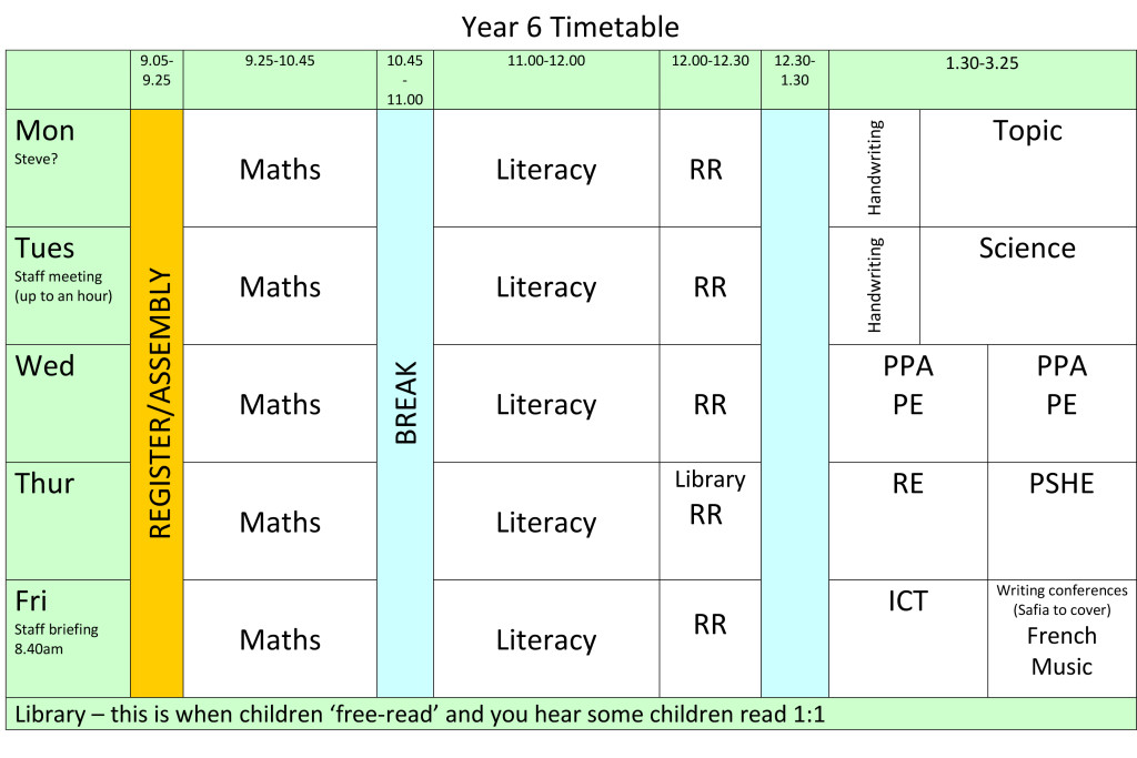 year-6-timetable-2016-2017